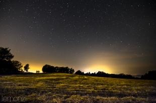 Night sky in Castellcir, Spain
