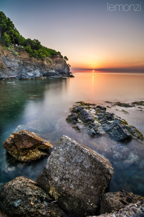 Sunrise in Garbet, Costa Brava